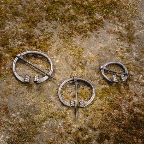 Steel Cloak Pin - Fibula (var 2)