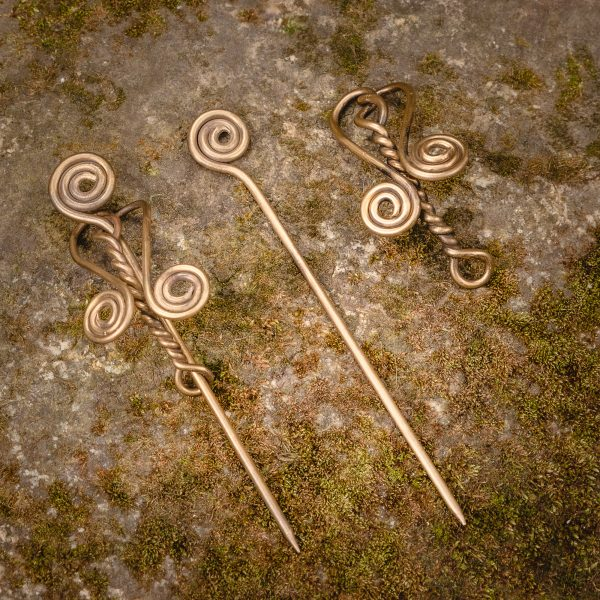 Brass Hair Pin