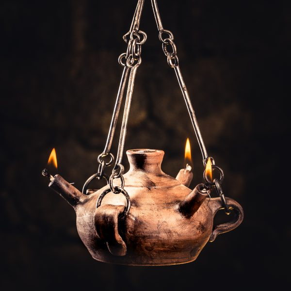 Triton Hanging Oil Lamp