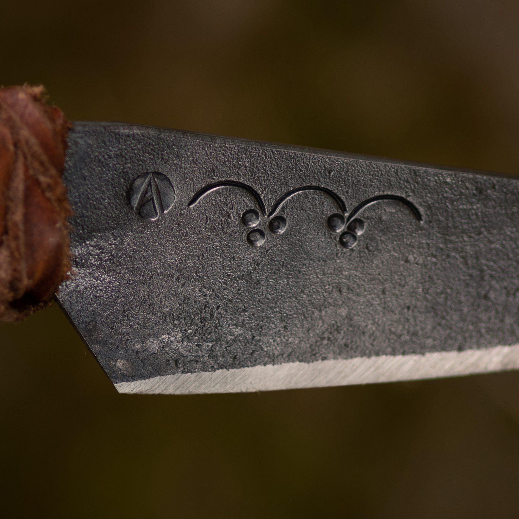 Ornaments var. 2 on a blade