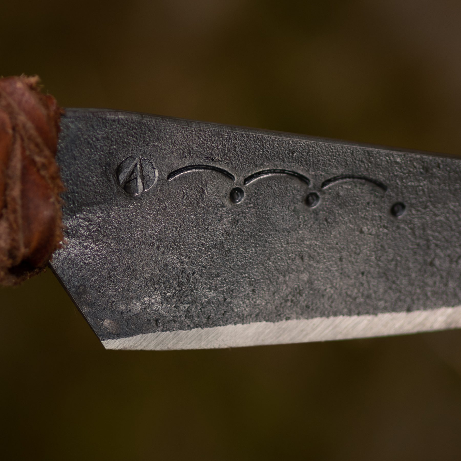 Ornaments var. 1 on a blade