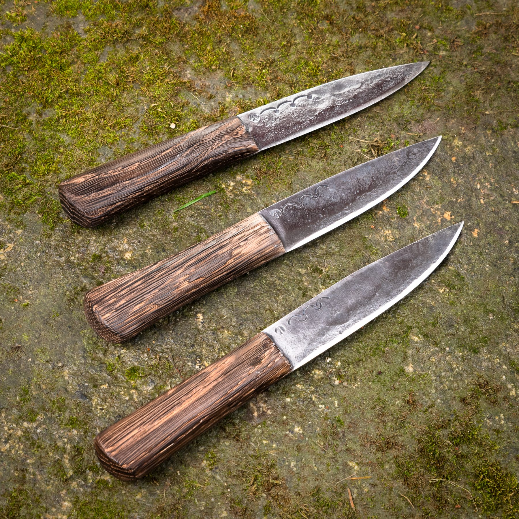 Wooden Handle Knives – Large