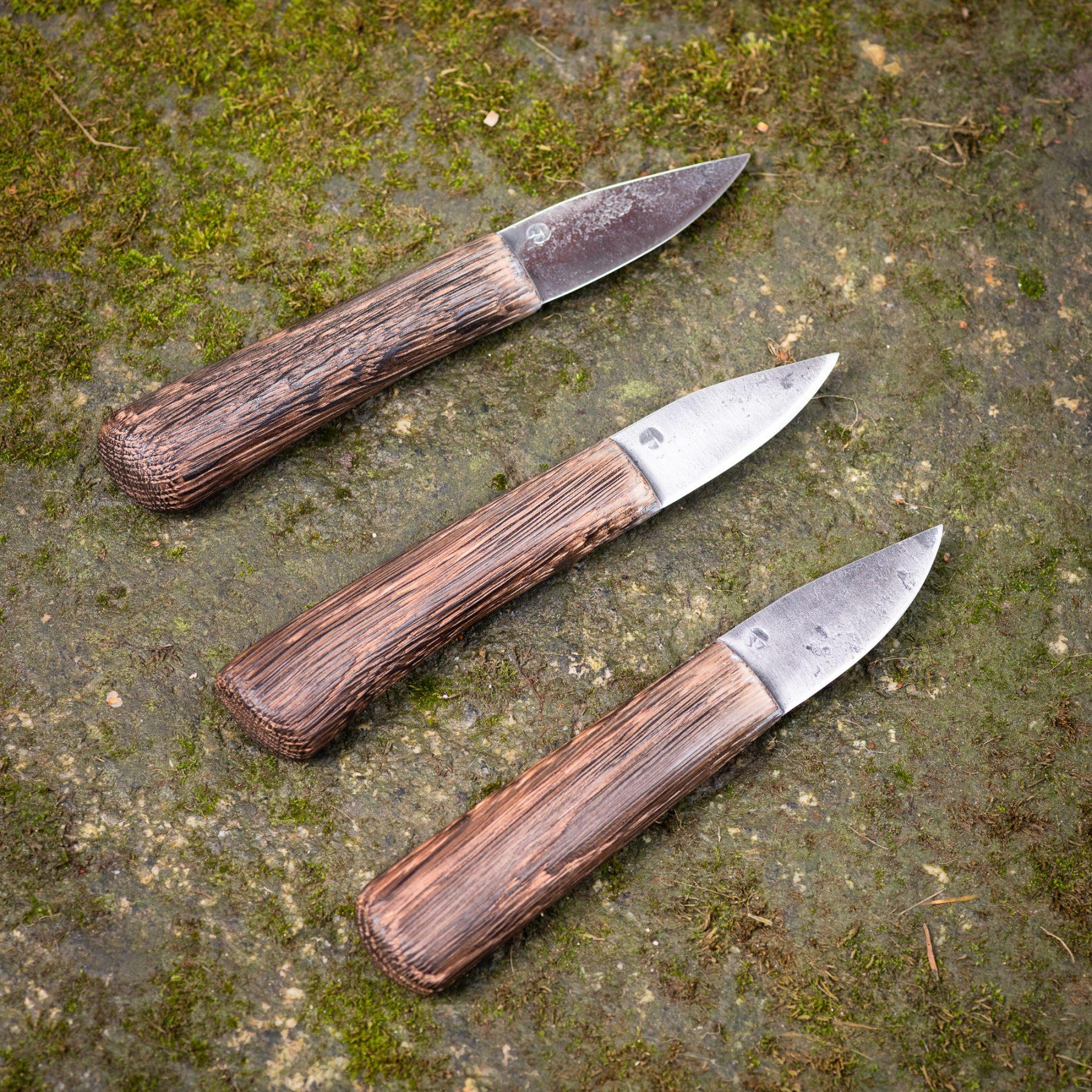 Wooden Handle Knives – Short