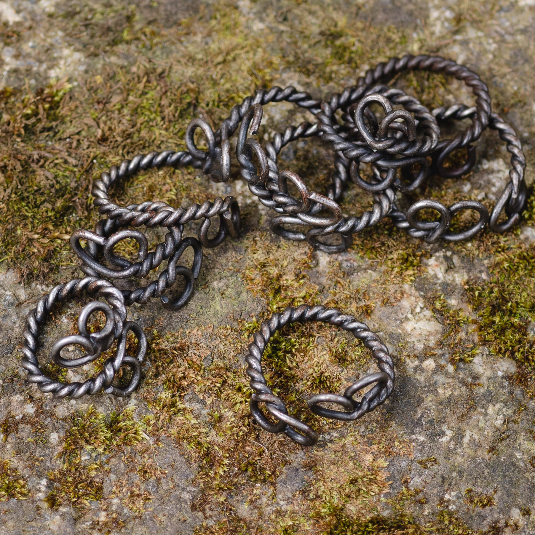 Twisted Metal Ring