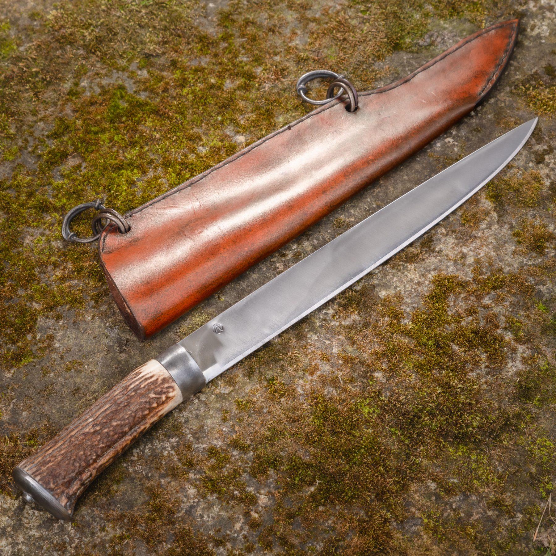 Sassen Straight Blade Langmesser