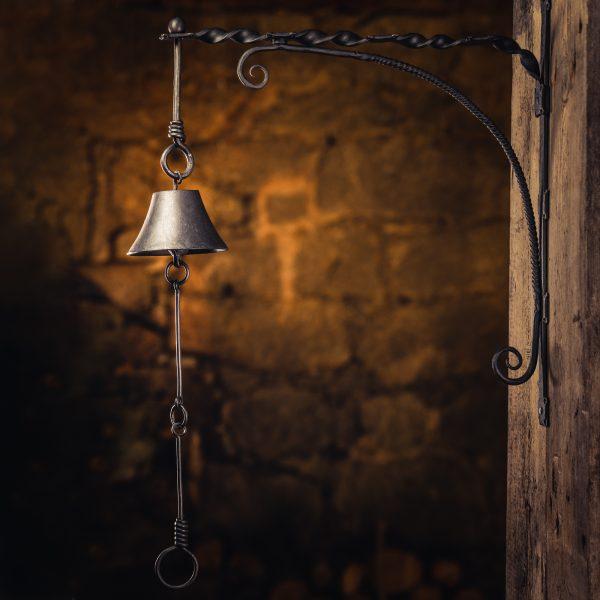Forged Steel Door Bell - var 1