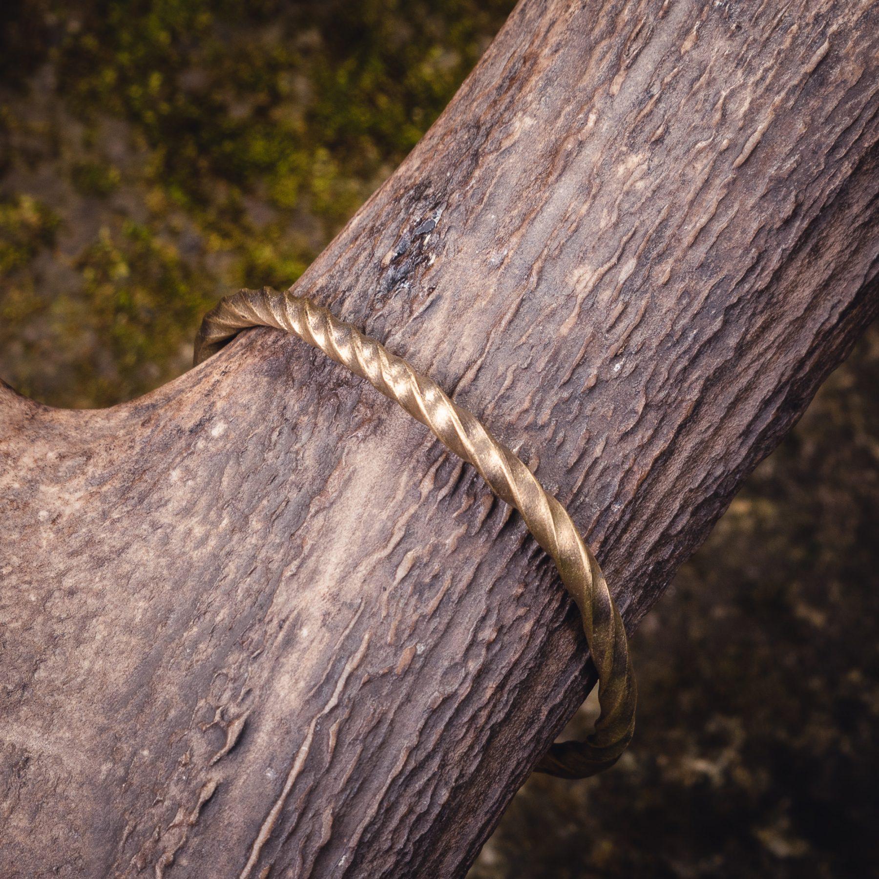 Viking Brass Bracelet