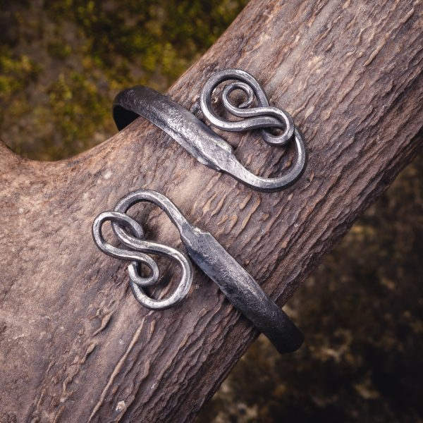 Forged Bracelet with Knots