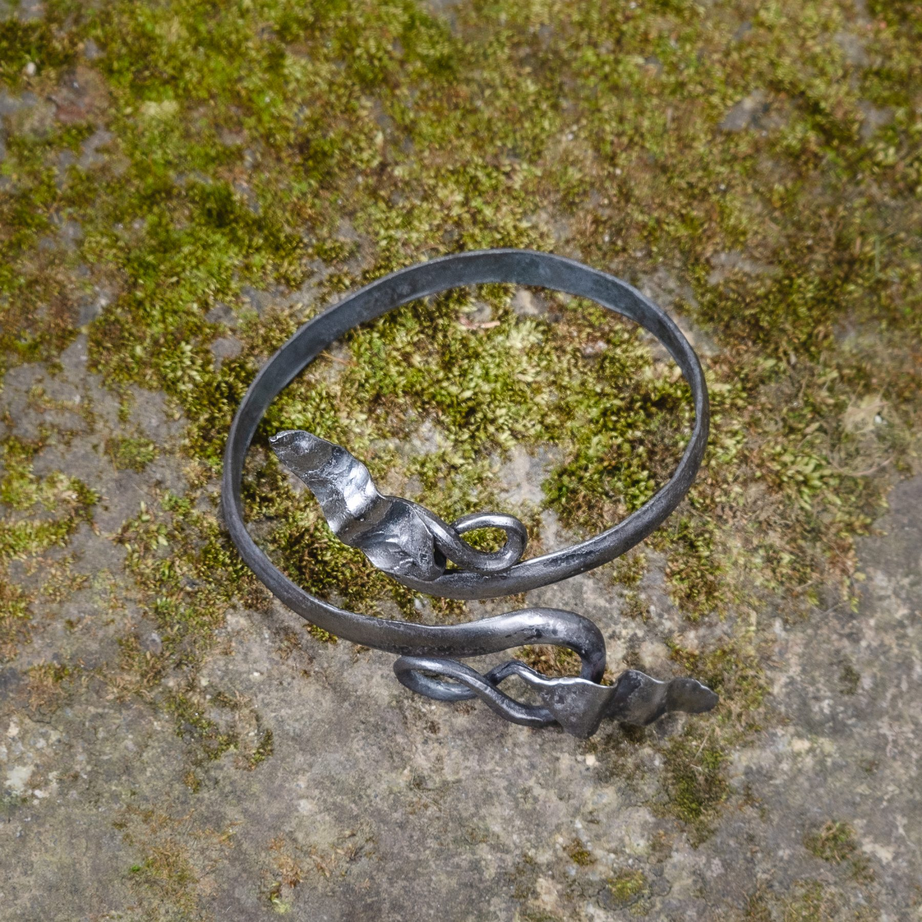 Elven Bracelet with Leaves