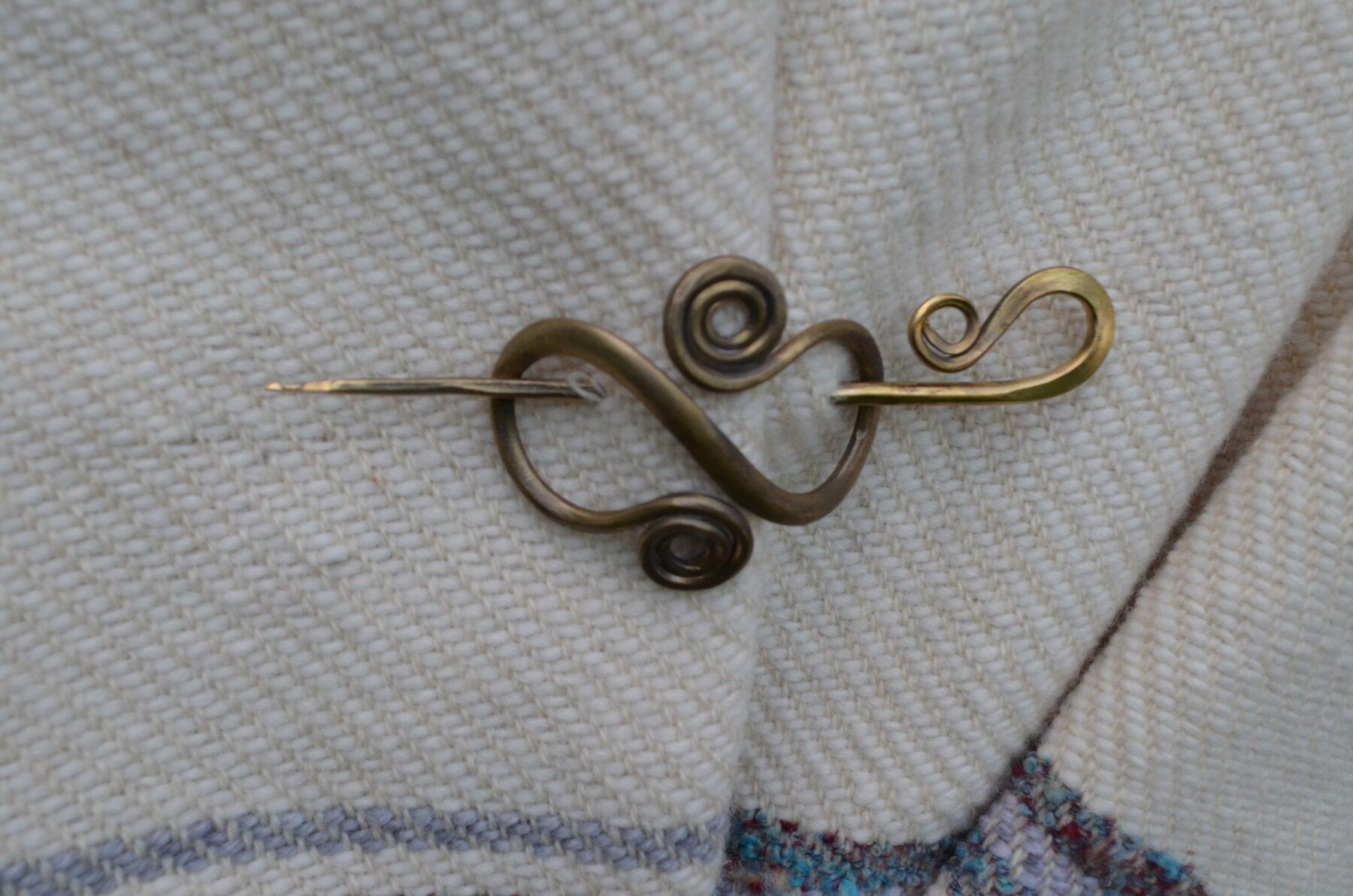 Brass Hair Pin II