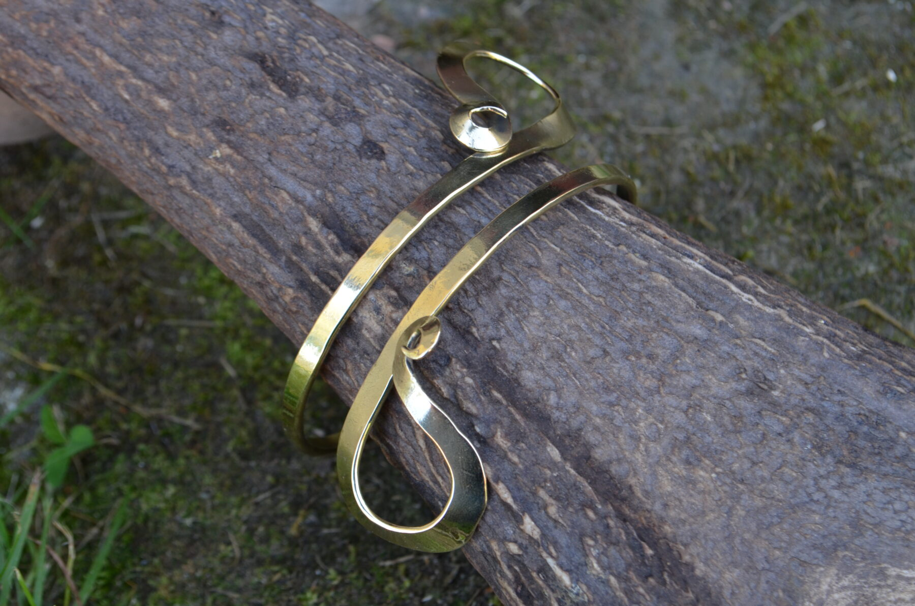 Brass Ornamental Bracelet II
