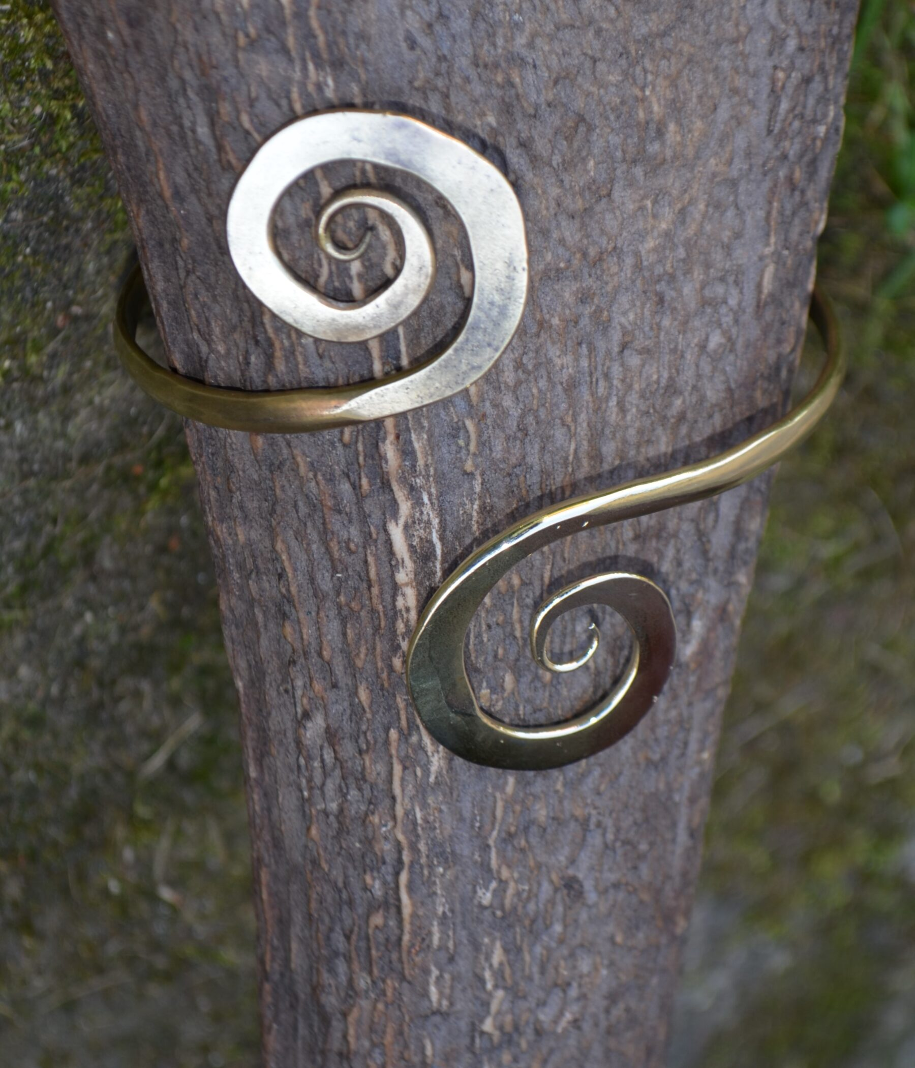 Brass Ornamental Bracelet