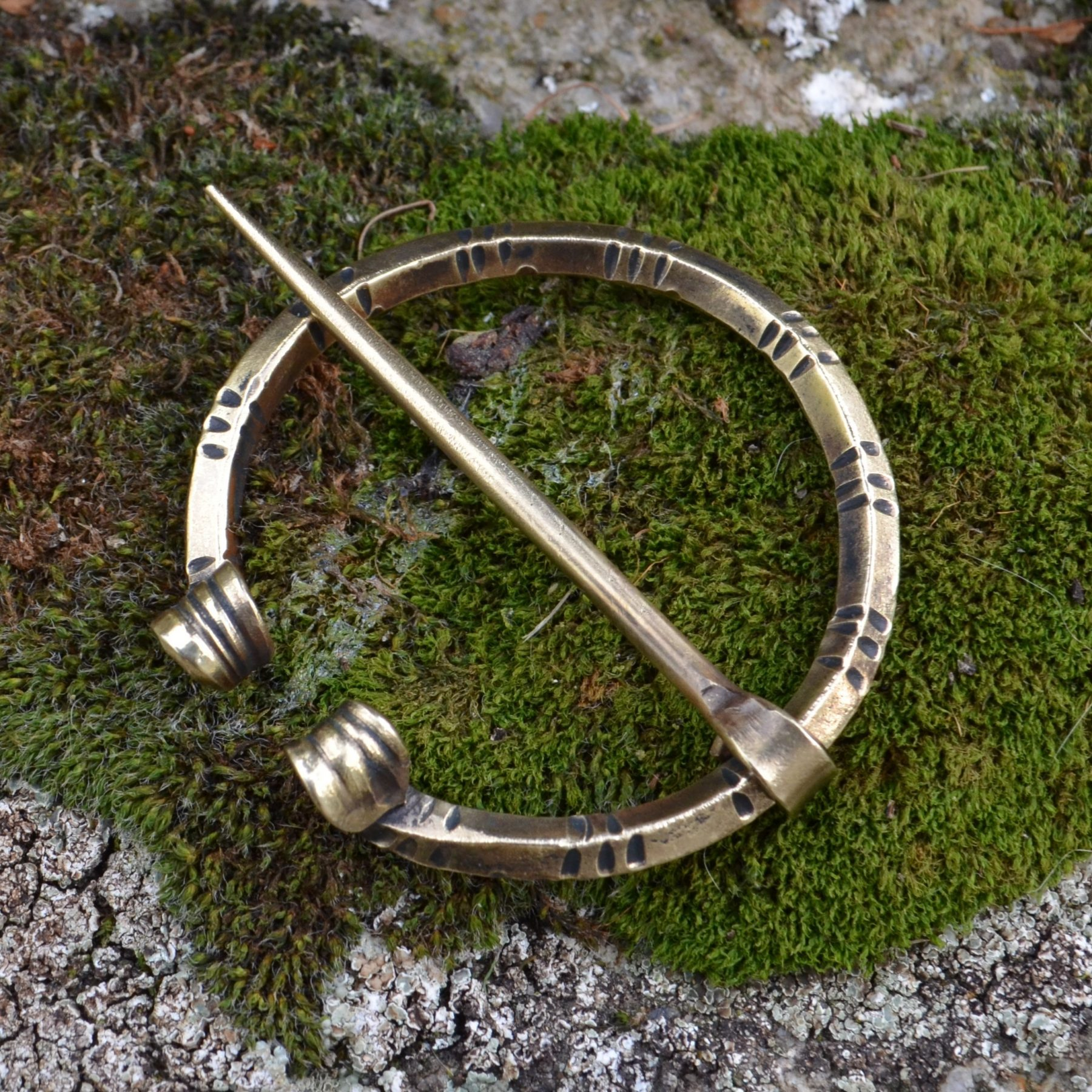 Early Medieval Cloak Pin