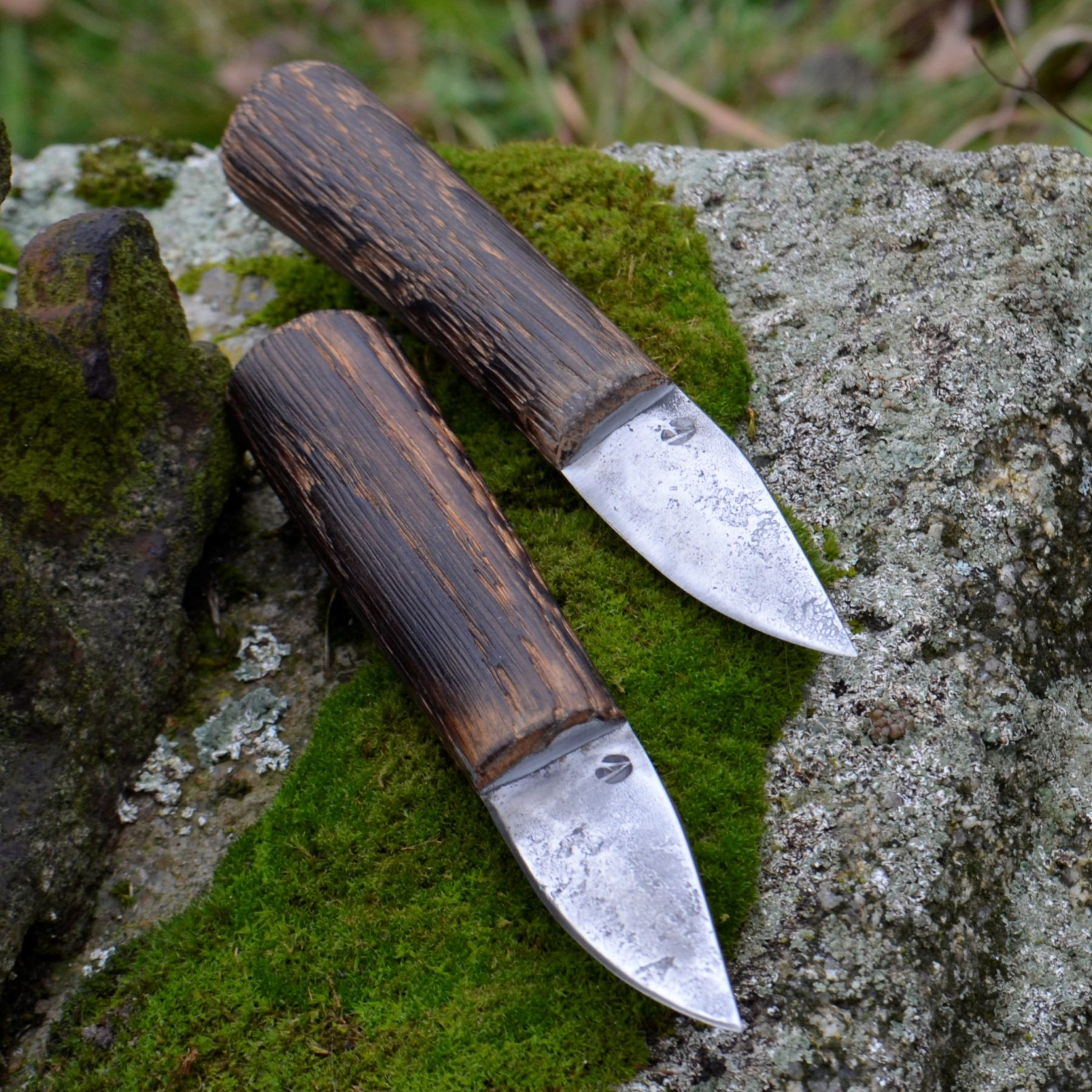 Wooden Handle Carving Knife