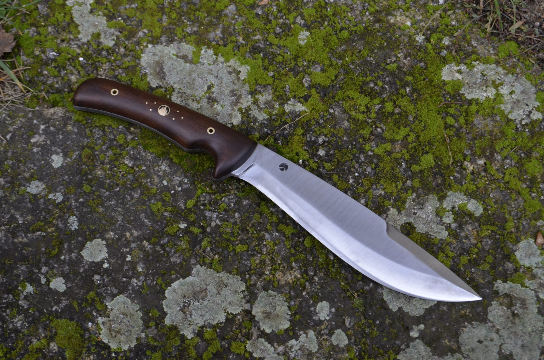 Outdoor Knife with Wooden Handle