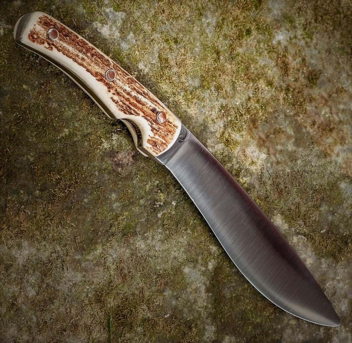Outdoor Knife I – Buckhorn Handle