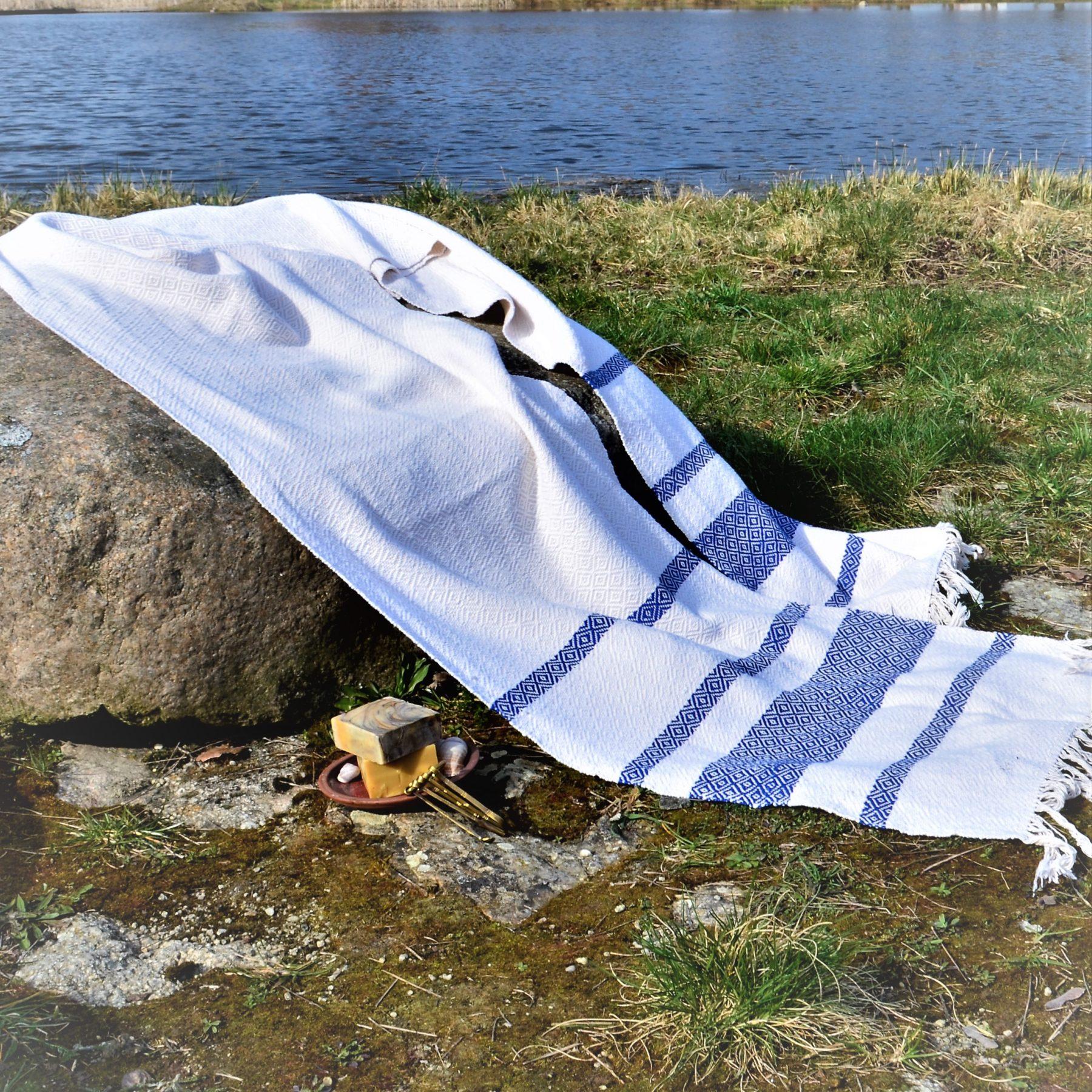 Historical Towel VI – Blue