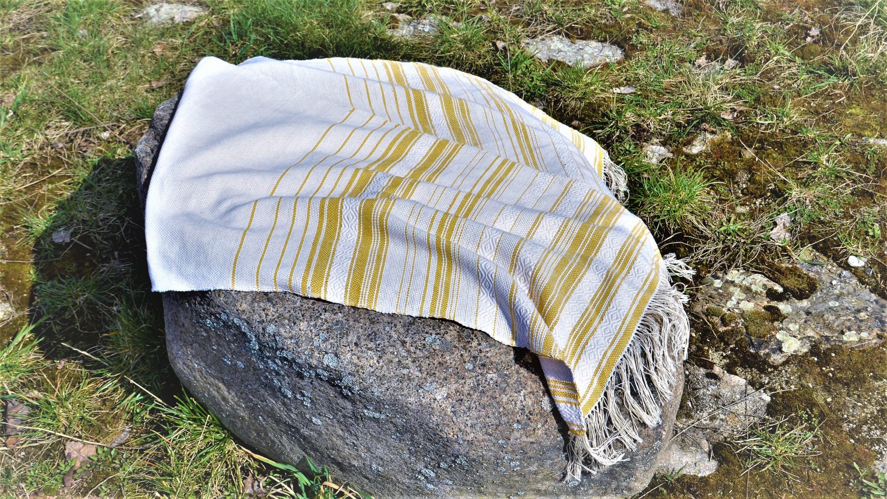 Historical Towel I – Yellow