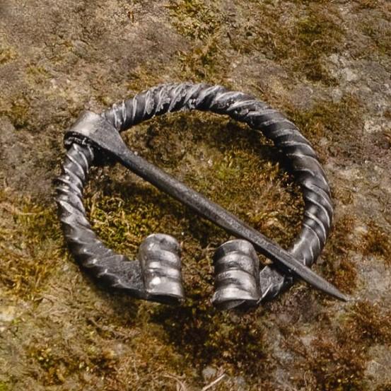 Viking Twisted Metal Pin (Fibula) II – Small