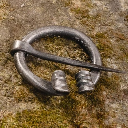 Simple Steel Pin (Fibula) – Viking I – Mini