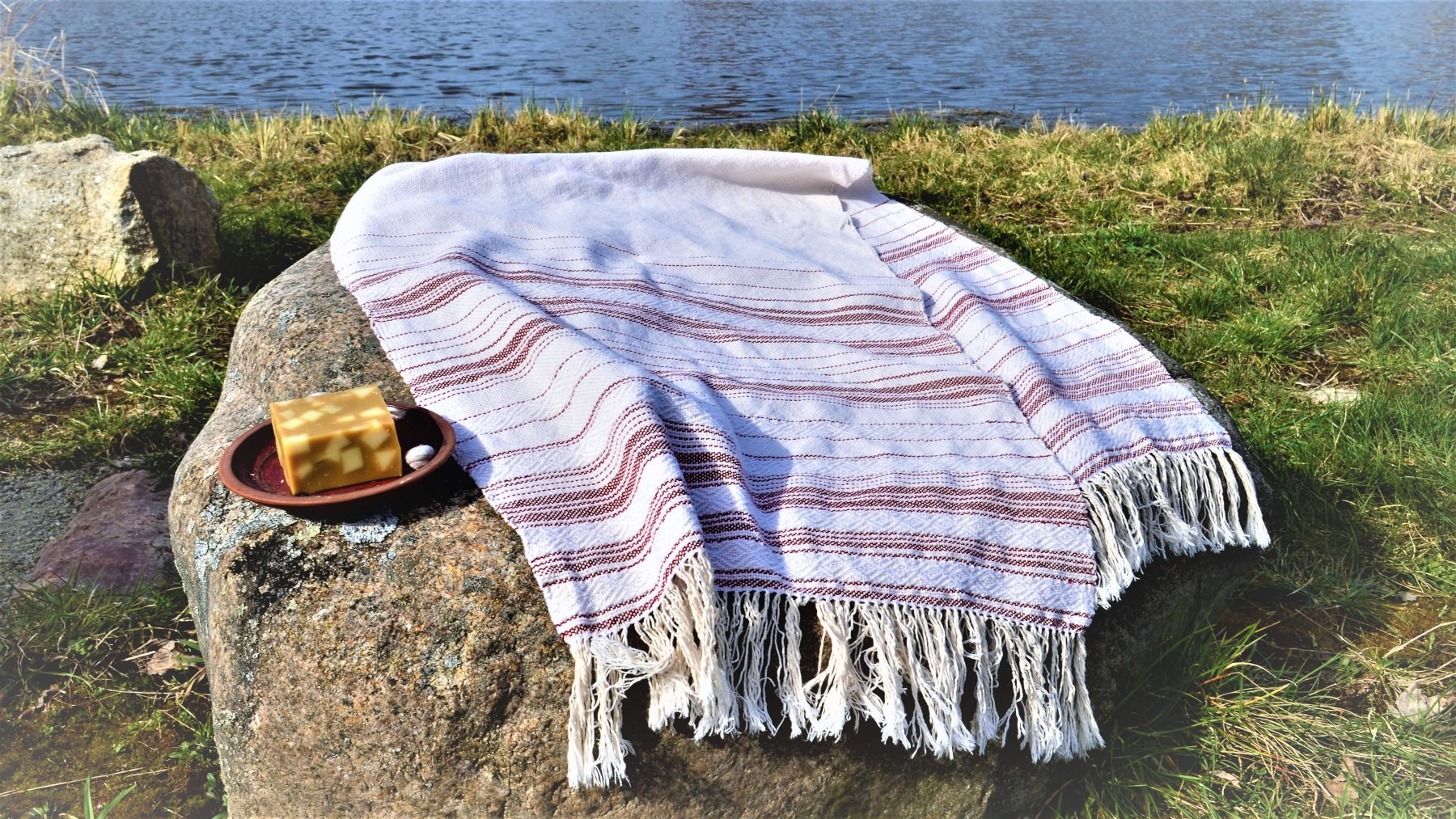Historical Towel VII – Red