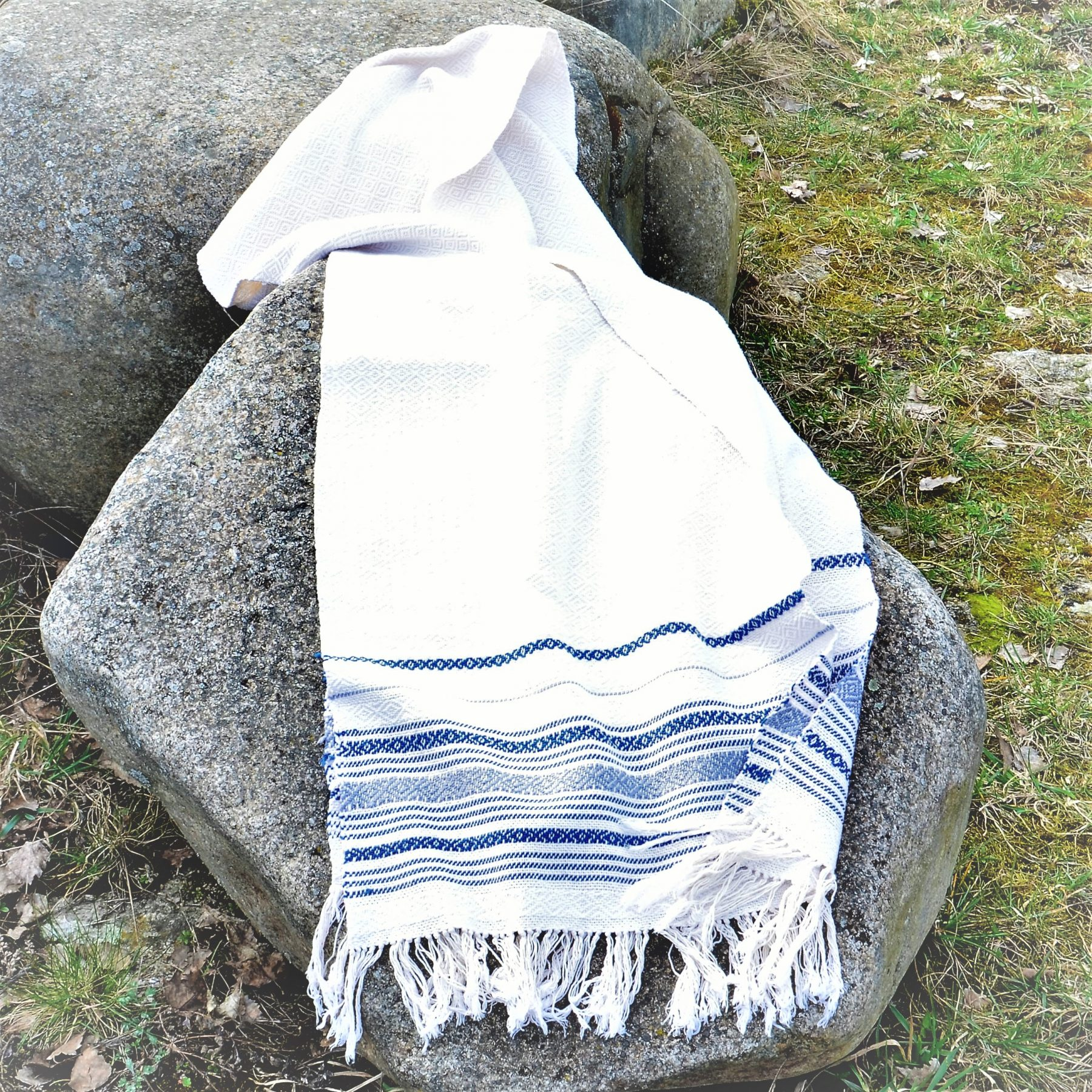 Historical Towel III – Blue