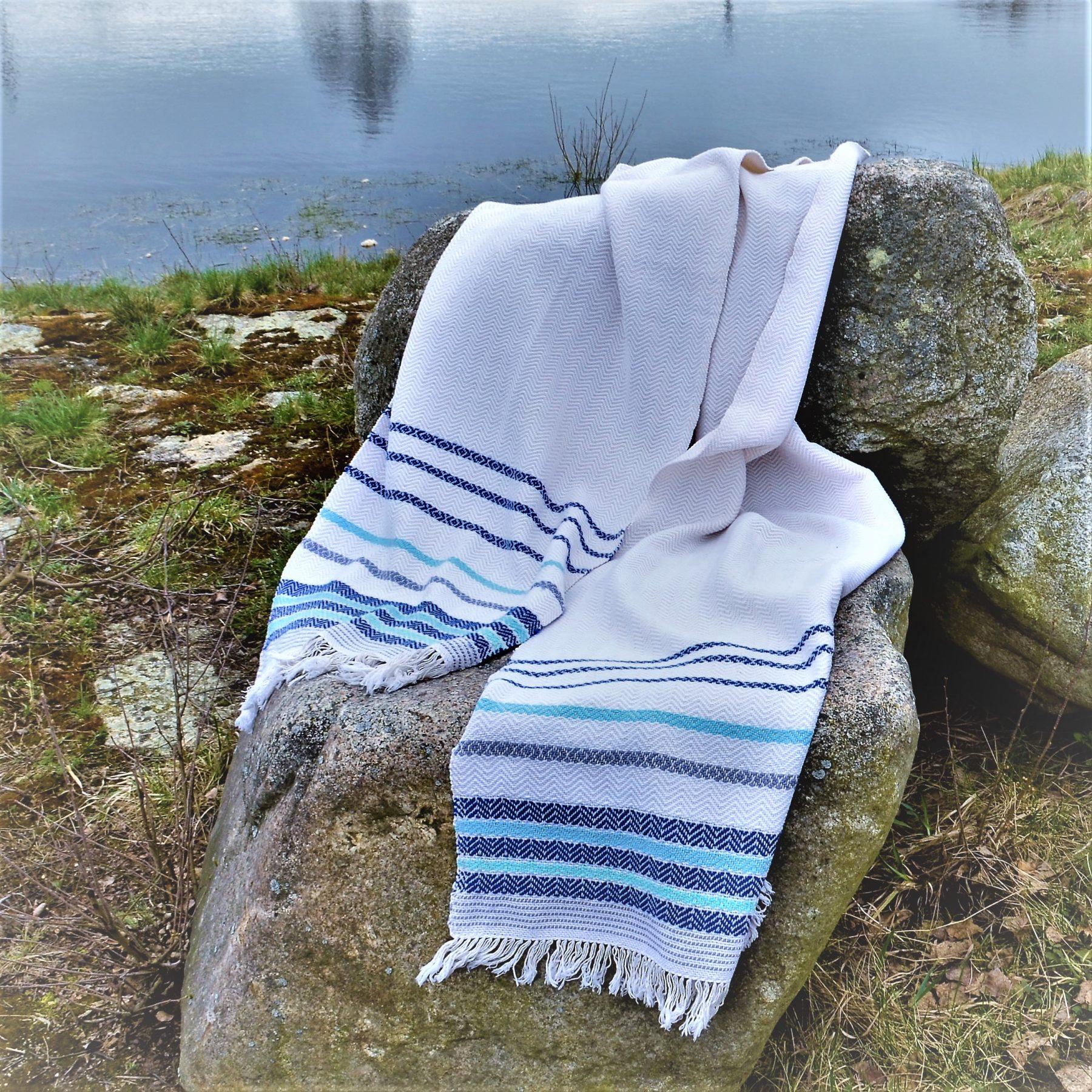 Historical Towel II – Blue
