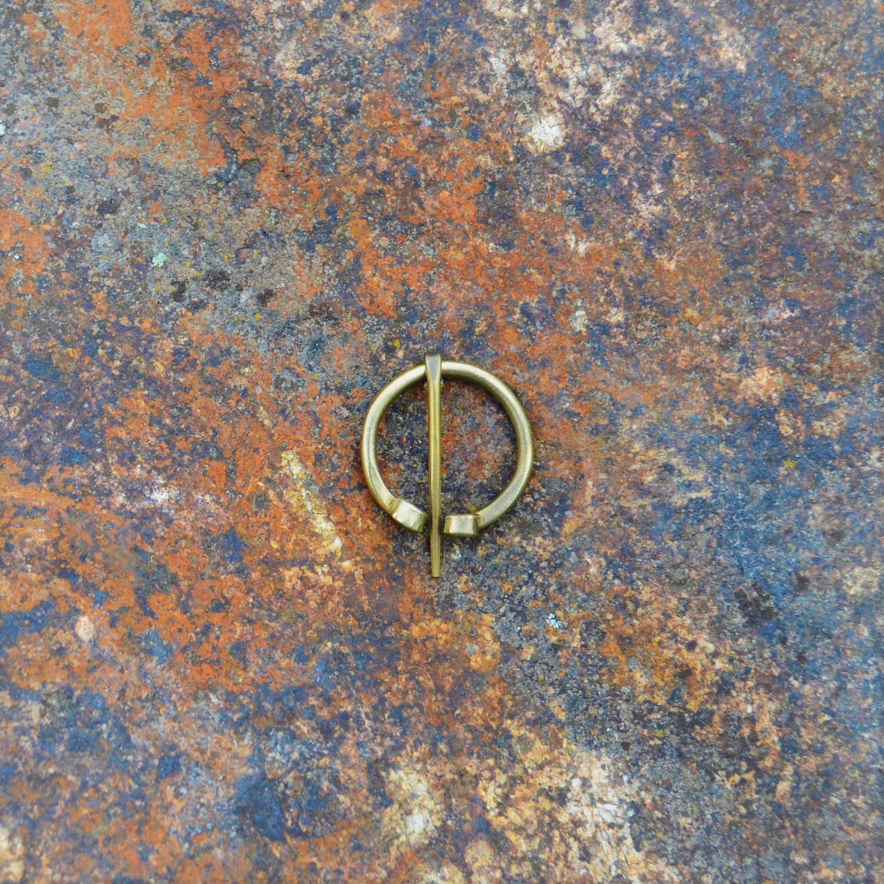 Pin (Fibula) – Mini – Brass